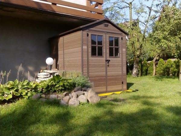 Domek Keter Scala w ogrodzie pana Tomasza