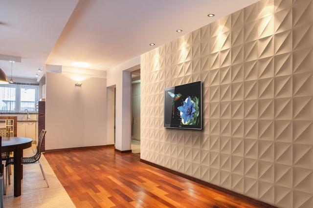 Wnętrze wykończone panelami VIA Panels
