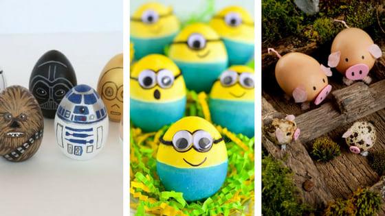 Wielkanocne pisanki dla dzieci i dorosłych - w wersji zabawnej.