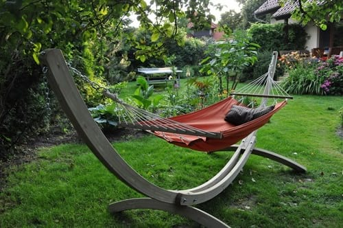 Hamak ogrodowy Iza z poduszką