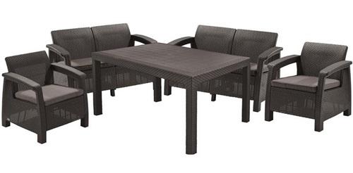 Stół ogrodowy i krzesła Corfu Fiesta