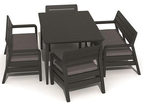 Krzesła i stoły ogrodowe De La Fiesta