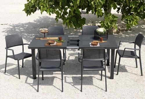 Zestaw ogrodowy stół i krzesła włoskie meble ogrodowe nardi