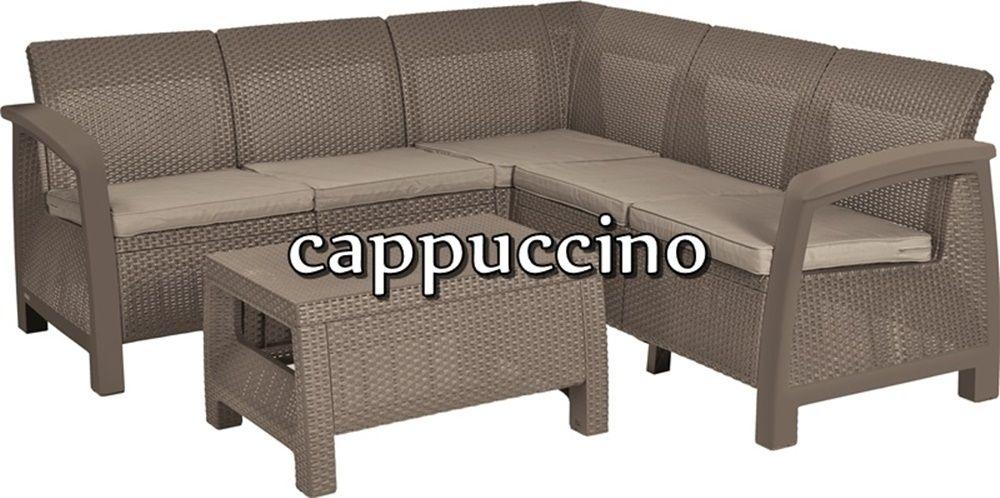Narożnik Corfu Relax Set cappuccino