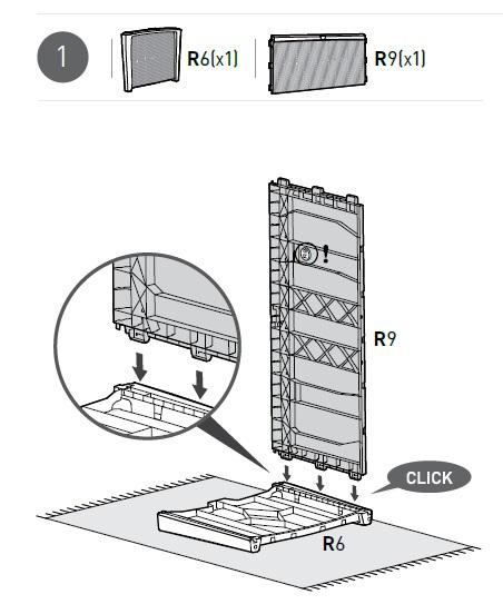 Borneo instrukcja montażu