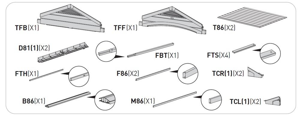 Instrukcja montażu Factor 8x6