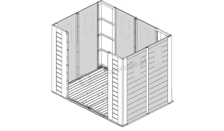 Okna w domku Factor 8x6