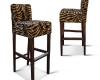 Tygrysie stołki barowe (hokery) Dom-Art-Styl