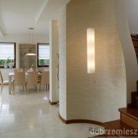 Wnętrze minimalistyczne Joanny Wysockiej z DobrzeMieszkaj