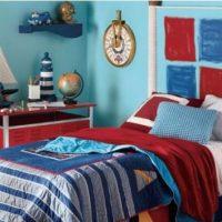 Marynarski styl mieszkanie inspiracje