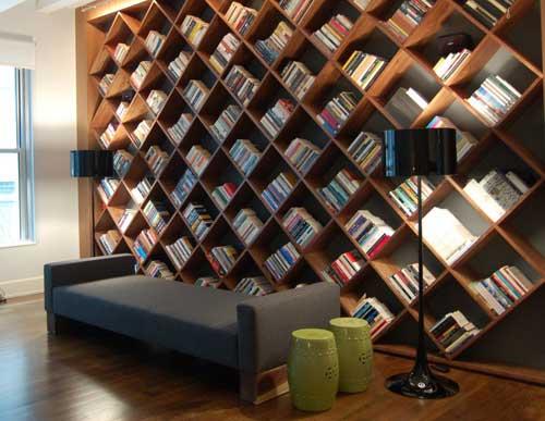 biblioteczka aranżacje