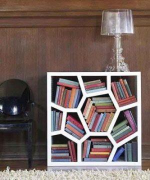 aranżacje domowych biblioteczek
