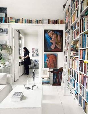 domowa biblioteczka aranżacje