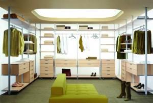 aranżacja garderoby, pomysły
