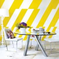 żółte meble