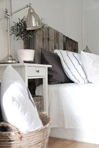Inspiracje meble z palet łóżko