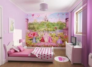 obraz w pokoju dziecięcym
