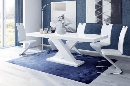 Stół Xenon wysoki połysk - biały