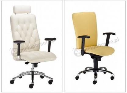 Fotele biurowe Chester i Bolero II