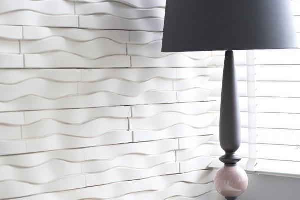 Kamień dekoracyjny w sypialni Phenomena Bianco Incana Decor