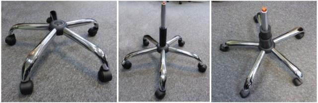 Montaż podstawy jezdnej fotela biurowego Hit
