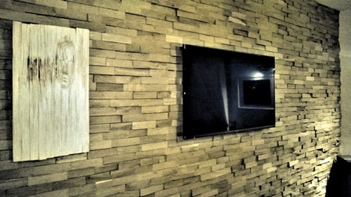 Drewniane panele ścienne 3D Natural Wood Panels