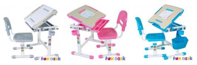Biurka ergonomiczne dla dzieci Fun Desk - model Bambino