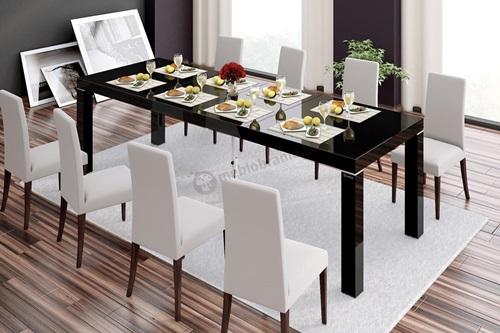Jak urządzić jadalnię - pomysł na aranżację ze stołem Capri