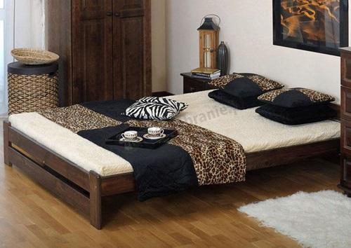 łóżko drewniane Viva