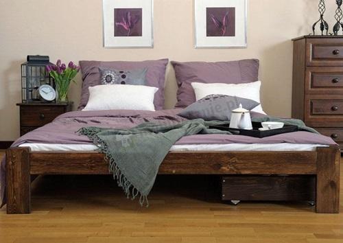 łóżko sosnowe Adrianna