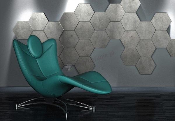 Płytki heksagony imitujące beton ZD Design