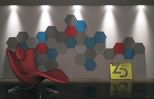 Płytki heksagony gipsowe ZD Design