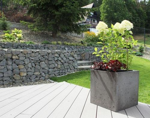 Donica betonowa na taras