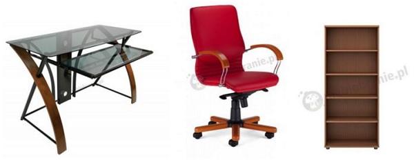 Pomysł na nowoczesne biuro domowe w eleganckim stylu