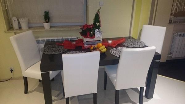 Nowoczesny stół do jadalni Capri Duo