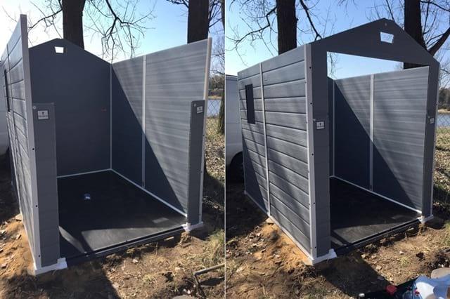 Gotowe ściany domku Keter Manor 6x8