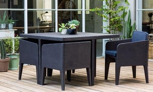 Stół i krzesła ogrodowe Keter Columbia