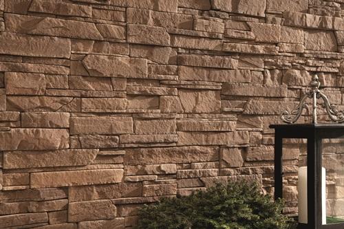 Nowoczesna elewacja z kamienia dekoracyjnego