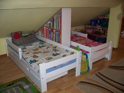 Łóżko dla chłopca lub dziewczynki Pablo