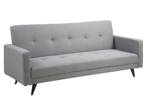 Actona Leconi stylowa sofa skandynawska rozkładana jasnoszara
