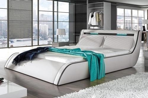 Łóżko nowoczesne do sypialni Corfu
