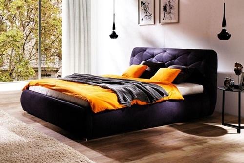 Łóżko nowoczesne do sypialni Dalia