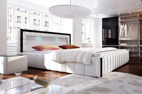 Łóżko nowoczesne do sypialni Forio