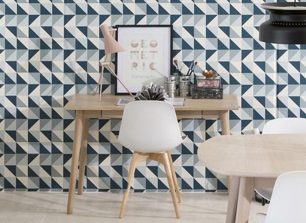 Actona Marte nowoczesne biurko z szufladą z krzesłem Scramble