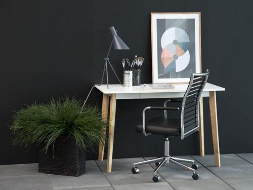 Actona Raven nowoczesne biurko skandynawskie