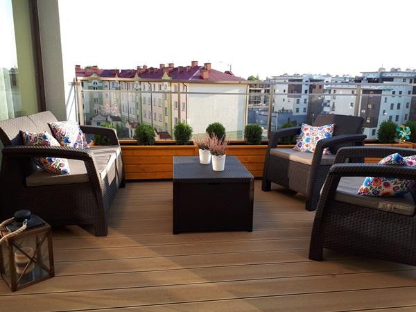 Meble Corfu Set na balkonie pana Mariusza