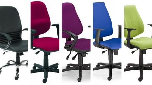 Krzesło biurowe za 600 zł – przegląd modeli. Miniaturki widocznych poniżej foteli.