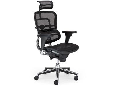Nowoczesny fotel biurowy Enjoy Ergohuman