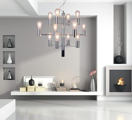 Lampa 12-punktowa Candel Pendant HP1811-12