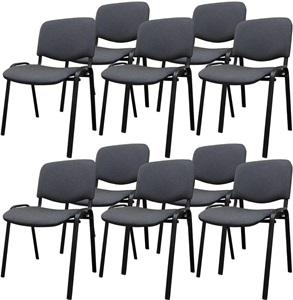 Krzesło ISO black Nowy Styl w zestawie